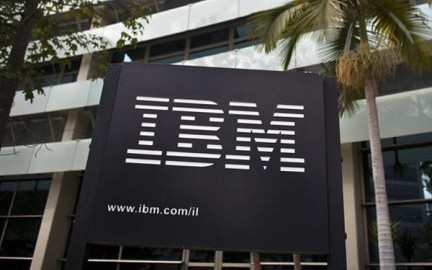 IBM-logo-outside-head-office