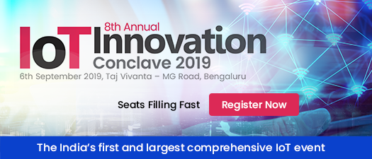 8th Annual IoT Innovation India Conclave & Exhibition 2019